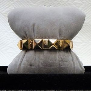 EXQUISITE VINTAGE Gold Tone Bangle Colossal Bracel
